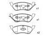 刹车片 Brake Pad Set:05019805AA