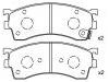 Pastillas de freno Brake Pad Set:GEYT-33-28ZA